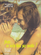Vintage French movie poster - Mais ne reste donc pas pucelle